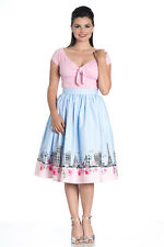 Hell Bunny Paname skirt Rockabilly Swing Retro day Tea Skirt