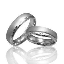 2 Trauringe 925 Silber GRAVUR Etui Eheringe Verlobungsringe Partnerrin pr14-1t