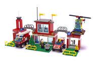 Lego Town Jr. Fire Set 6554-1 Blaze Brigade 100% cmpl. + instructions