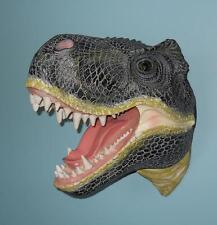 Resin Tyrannosaurus Rex Head Hanging Wall Head Reptile Dinosaurs Trophy Hunting