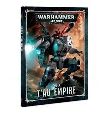 Codex Tau Empire T'au Warhammer 40K NEW 8th Edition