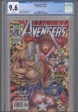 Avengers v#2 #1 CGC 9.6 1996 Marvel (Avengers #403) Rob Liefeld Story:New Frame