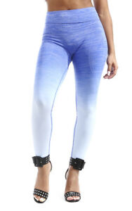 Soho BABE Juniors Marled Ombre Full Length Active Pants