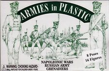 Armies in Plastic Napoleonic Wars 1803-1815 Russian Grenadiers 1/32 Scale 54mm