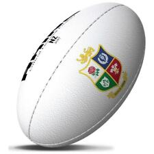 Official Rhino British & Ireland Lions Classic Rugby Ball NZ Size 5 – White  B40