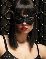 Bad Girl Adult Womens Black Mask Costume Accessory - One Size