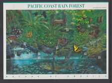 US #3378 Pacific Coast Rain Forest 33 Cents Complete Sheet of 10 MNH