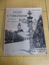[ARCHITECTURE] P. LAVEDAN HISTOIRE de l' URBANISME Renaissance et Temps Modernes