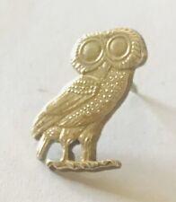 Owl of Athena Tie Tack