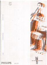 Philips  Bedienungsanleitung user manual owners manual  für AF 877 in deutsch