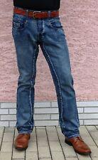 Copyright Lässige Herren Comfort Jeans Jeanshose Hose Herrenhose Loose Fit - L34