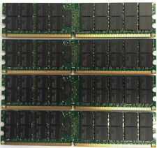 16GB 4x 4gb Dell PowerEdge 2970 6950 SC1435 T300 T605 M605 R300 R805 R905 Memory