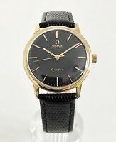 OMEGA GENEVE AUTOMATIC BLACK DIAL CAL. 552 DATING TO 1967