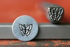 SUPPLY GUY 7mm Butterfly Metal Punch Design Stamp SG375-62, Made in the USA