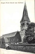 Bengeo Parish Church near Hertford # 1482 by Charles Martin.