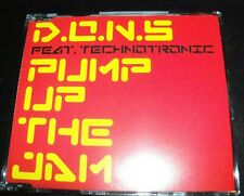 DONS Feat Technotronic Pump Up The Jam Australian Remixes CD Single