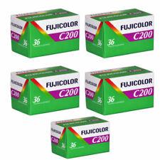 Fujicolor Fuji C200 35mm Color Film Roll - 5 Pack