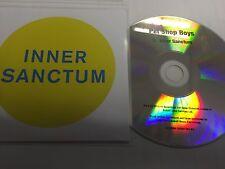 PET SHOP BOYS - INNER SANCTUM - NEW OFFICIAL ONE TRACK CD PROMO