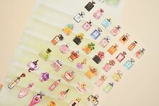 Cute Fragrance Bottle Cologne Perfume Sticker Diary Scrapbook School Stationery