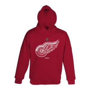 Detroit Red Wings Youth NHL Reebok Primary Logo Sweatshirt