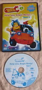 ENGIE BENJY Deel 3 Help ons DVD Nederlands gesproken tekenfilm serie 2-5 jaar