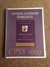Diverse Learners Families II: CPSY 1002