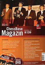 ChessBase Magazin 139: Heft + DVD - Schach NEU !!