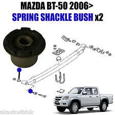 für Mazda BT-50 2WD/4WD 2006> hintere Blattfeder Bügel Aufhängung Buchse/Buchsen