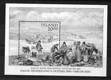 Islanda/Iceland 1986 Foglietto Giornata del Francobollo (Bf 7) MNH