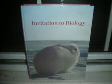Invitation to Biology by Sue N. Barnes and Helena Curtis (1985, Hardcover)