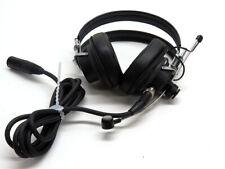 Shure SM2 broadcast headset dual earphones cardioid boom dynamic mic 5-pin XLR