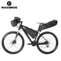 RockBros Cycling Touring Combined Bag Handlebar Frame Saddle Bag Waterproof New
