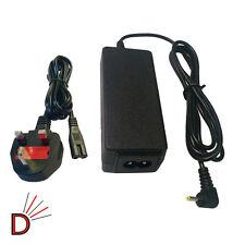Para Samsung 12v 3.33 a 40w Pin Tamaño 2.5 Mm X 0.7 Mm + Red De Cable de alimentación Cable