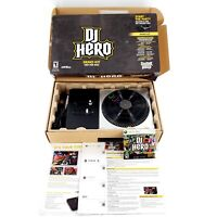 DJ Hero Demo Kit Not For Resale For Microsoft Xbox 360 Turntable New Open Box