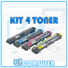 KIT 4 TONER BROTHER TN241 245 DCP9020 HL3140CW HL3150 HL3170 MFC9140CDN MFC933
