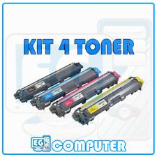 KIT 4 TONER BROTHER TN241 TN245 DCP9020 HL3140CW HL3150 HL3170 MFC9140CDN MFC933
