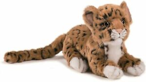 "HANSA ""Jaguar Kid"" BH4093 Real Cute Stuffed Animal from Japan F/S [NEW]"