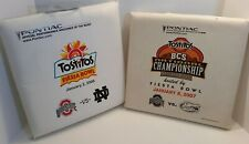 2006 Tostitos Fiesta Bowl and 2007 BCS National Championship Seat Cushions
