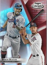 Byron Buxton 2018 Topps Gold Label Class 1 Red 39/75 Twins #59