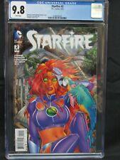 Starfire #2 (2015) Amanda Conner Cover Teen Titans CGC 9.8 PP63