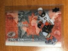 2015-16 Upper Deck Ice Global Impact #GINR Nick Ritchie