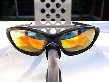 Oakley XX Twenty Sunglasses Matte Black Frame - Fire Red Polarized Lens