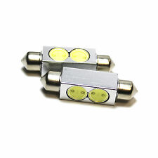 2x VW EOS 1F8 Bright Xenon White Superlux LED Number Plate Upgrade Light Bulbs