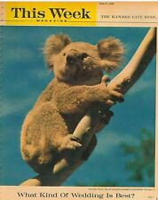 This Week Magazine May 31 1959 Koala Trading in Zoo's D-Day Secrets Eisenhower