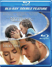 Notebook / The Lucky One (Blu-ray Disc, 2014, 2-Disc Set) - NEW!!