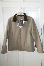 Special Offer Barbour Ladies Fitted Microfiber Jacket Size 14