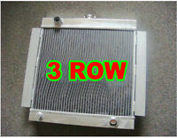 3 Row Aluminum Radiator for Ford Escort Mk1 Mk2 RS2000 1968-1980 Manual 69 70 71