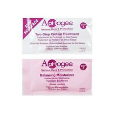 ApHogee Two-step Protein Treatment and Balancing Moisterizer Sachet