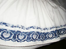 Ralph Lauren Jonquil Bed Skirt Dustruffle Queen Rare Read 1st