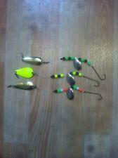 3x Plaice Spoons With Giant Attractor Blades, Plaice,Turbot,Sea Fishing Tackle